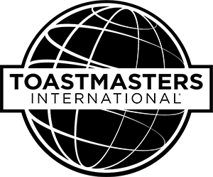Bob is a member of Toastmasters International