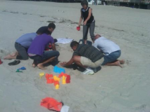 Training Trainers Using the Beach as a Classroom
