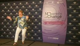 Speaking in Florida at the Moments of Change Conference