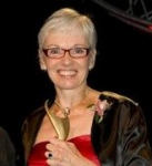 Marilyn Walker receiving the Athena Award 2010