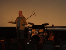 Speaking at a Theater
