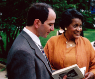 Barry Bradford and Myrlie Evers On The