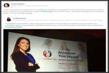 Testimonial for Corporate Keynote