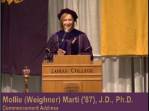 Loras College 2013 Commencement Speaker