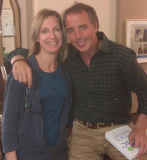 Mollie Marti and Dan Buettner, Founder and CEO of Blue Zones