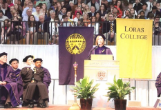 Dr. Mollie Marti delivers Loras College 2013 Commencement Speech