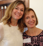 Leah Badertscher and Dr. Mollie Marti, National Conference | Thriving Communities, Thriving Lives 2015 Conference