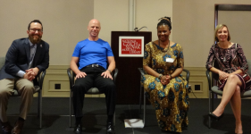Jeremiah Pauley, Dr. Jon Porman, Dr. Tererai Trent, Dr. Mollie Marti - National Conference | Thriving Communities, Thriving Lives 2015 Conference