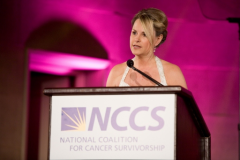 Kim Becking - Speaking at National Coalition of Cancer Survivorship