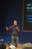 Jason Barger Speaking at a Tech Conference in Seattle
