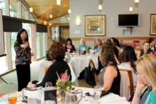 Mary Liu speaking at eWomenNetwork