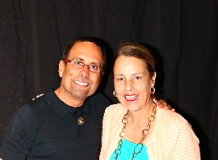 Linda Shaffer-Vanaria with Alex Mandrossian, The King of Funnel Marketing