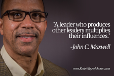Leaders encourage others along the way