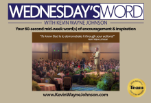 Wednesday Word with Kevin Wayne Johnson