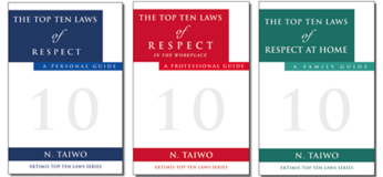 The Top Ten Laws of Respect Book Series