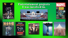 Entertainment projects I was involved with .