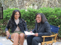 Interviewing Ashanti