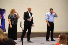 Chad Chesmark Performing Corporate Magic