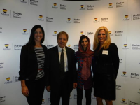 Dr. Diane Hamilton and Roya Mahboob Forbes Speaker Event