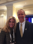 Dr. Diane Hamilton and Governor Bruce Rauner Forbes Summit