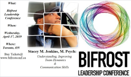 BIFROST Leadership Conference Flyer 2019
