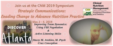 Clinical Nutrition Management Conference Flyer