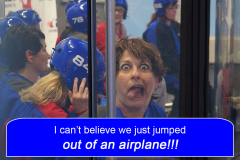 Did we really just jump out of an airplane?