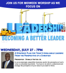 July 2016 Leadership Talk