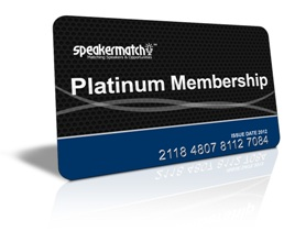 SpeakerMatch Platinum Membership