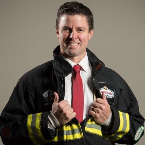 Fireman Rob — Motivational Speaker