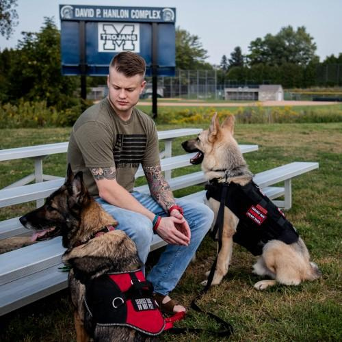 Jacob Gland and Liberty the Service Dog — Motivational Speaker